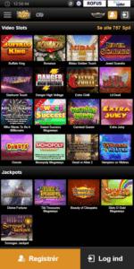 Du kan finde rigtig mange spillemaskiner hos Videoslots